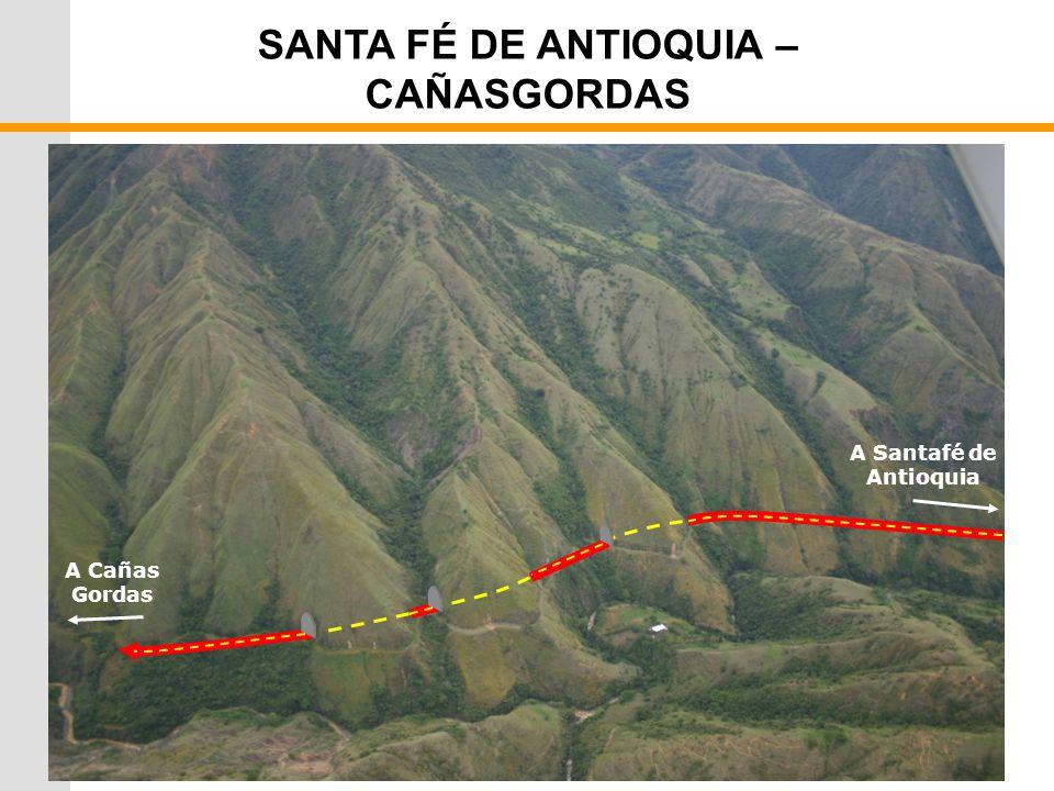 SANTA FÉ DE ANTIOQUIA – CAÑASGORDAS