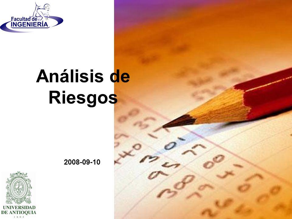 Análisis de Riesgos 2008-09-10