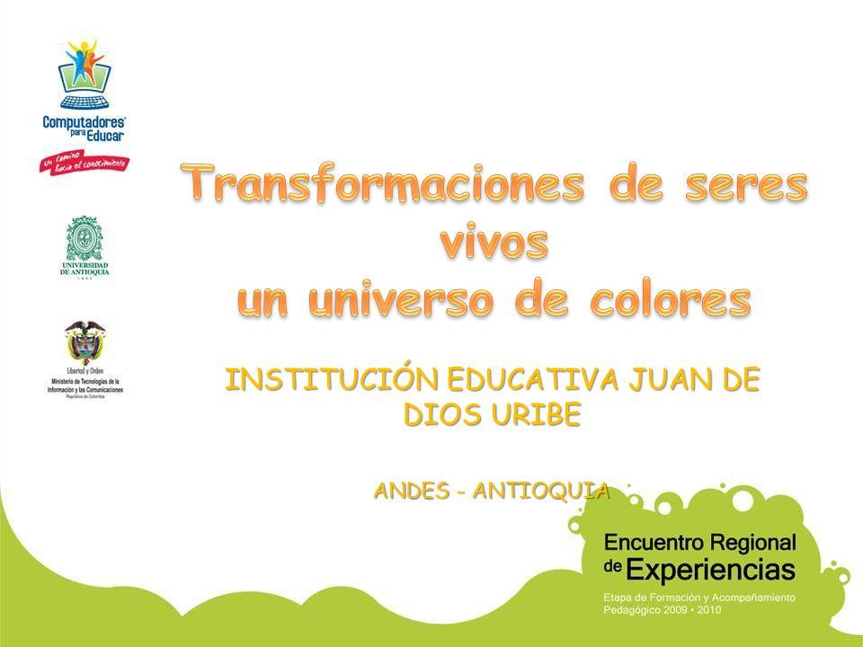 INSTITUCIÓN EDUCATIVA JUAN DE DIOS URIBE ANDES - ANTIOQUIA
