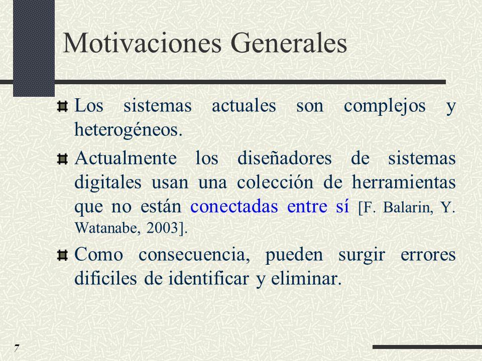 Motivaciones Generales