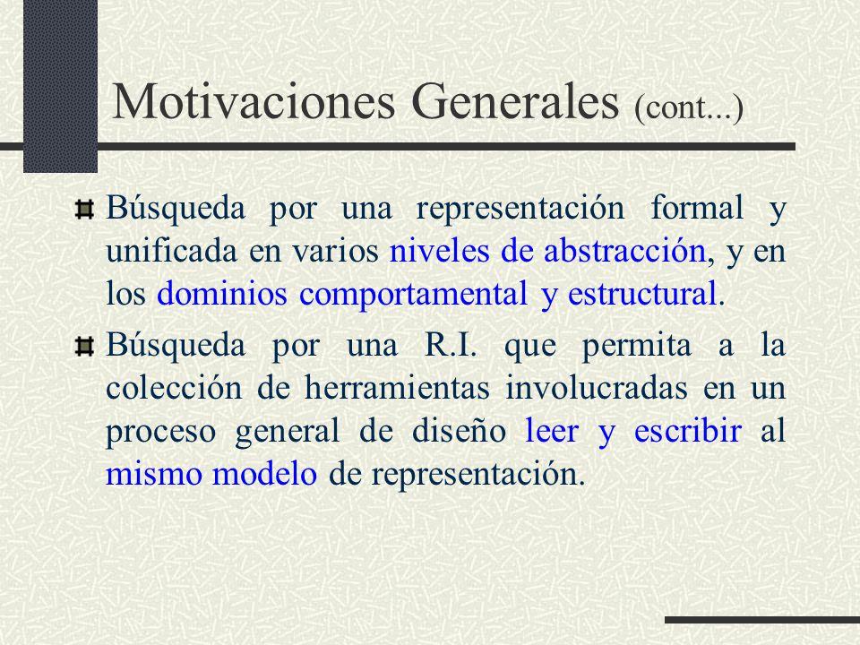Motivaciones Generales (cont...)