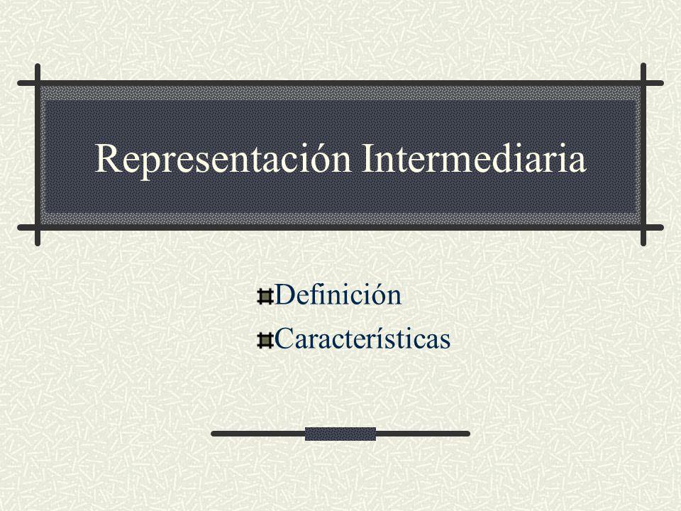 Representación Intermediaria