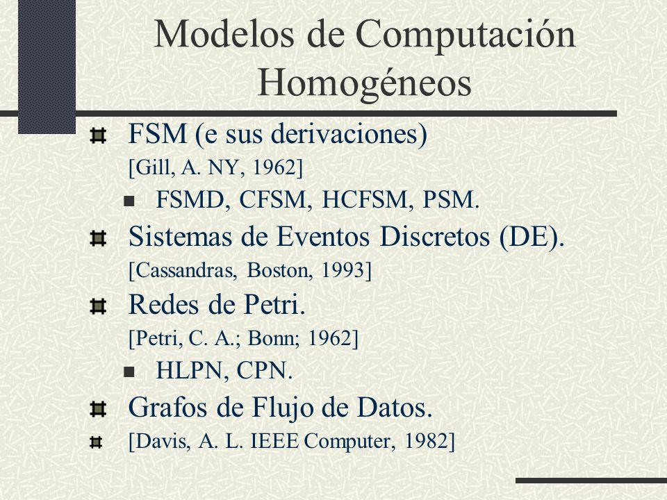 Modelos de Computación Homogéneos