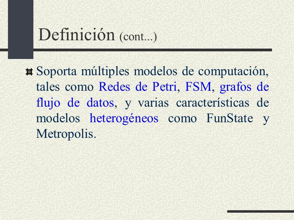 Definición (cont...)