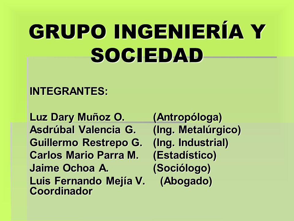 GRUPO INGENIERÍA Y SOCIEDAD