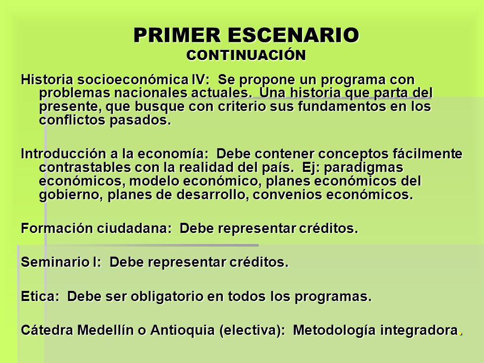 PRIMER ESCENARIO CONTINUACIÓN