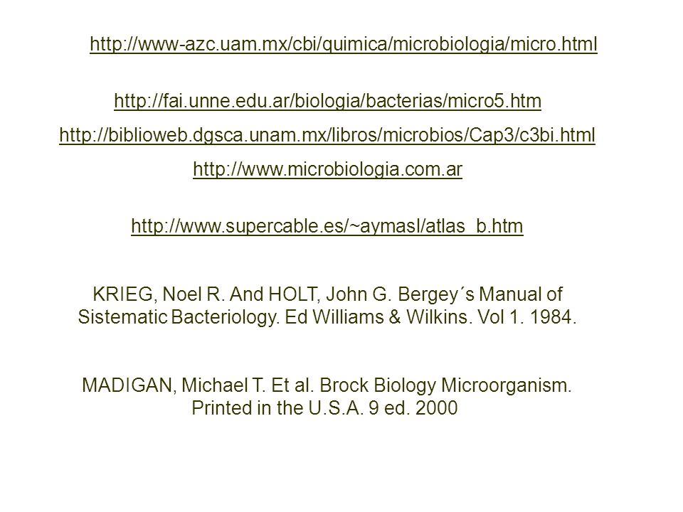 httphttp://www-azc.uam.mx/cbi/quimica/microbiologia/micro.html http://fai.unne.edu.ar/biologia/bacterias/micro5.htm.