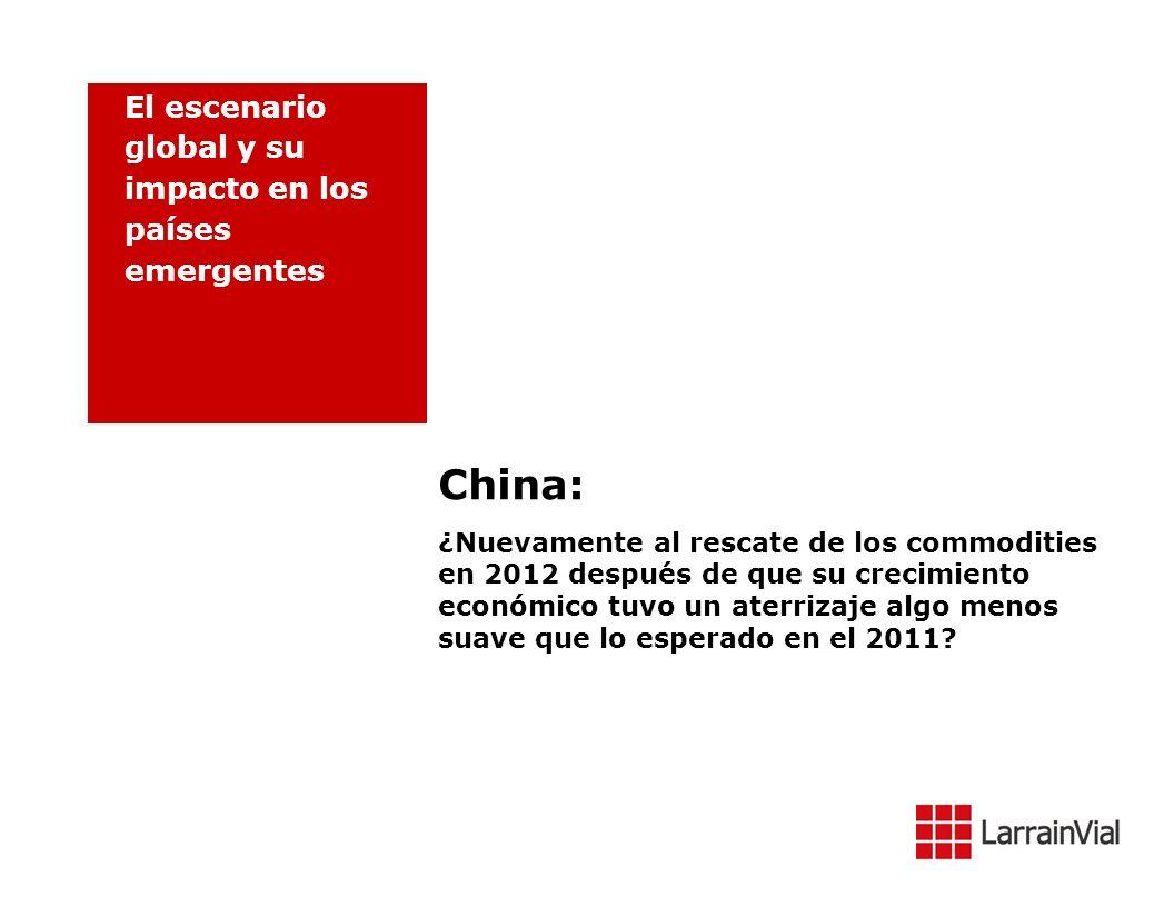 China: El escenario global y su impacto en los países emergentes