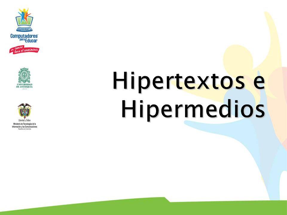 Hipertextos e Hipermedios