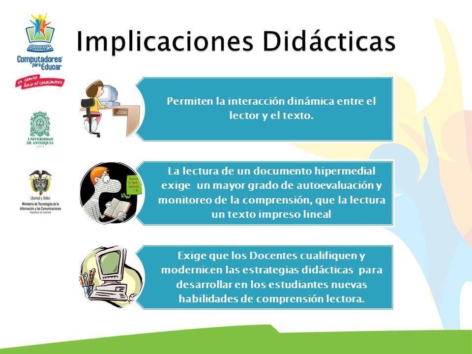 Implicaciones Didácticas
