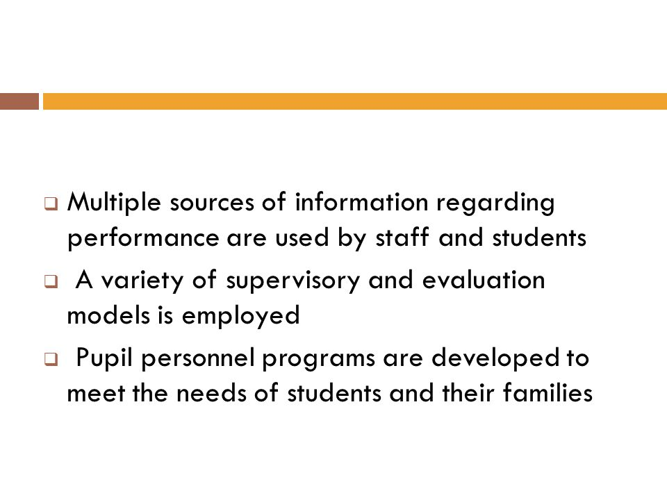 Multiple sources of information regarding performance are used by staff and students