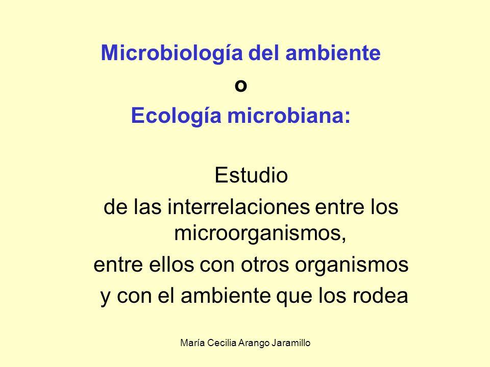 Microbiología del ambiente