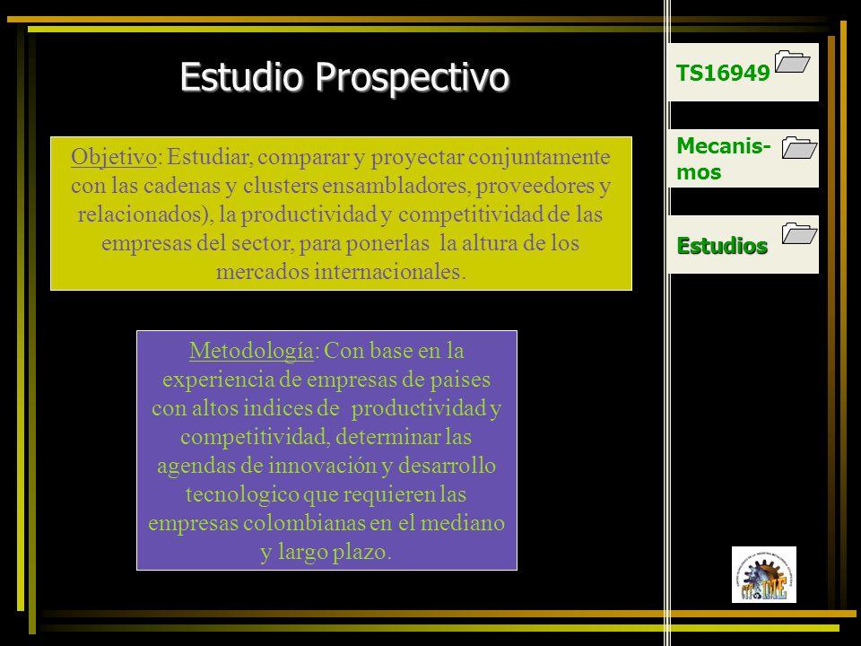TS16949 Estudio Prospectivo. Mecanis-mos.