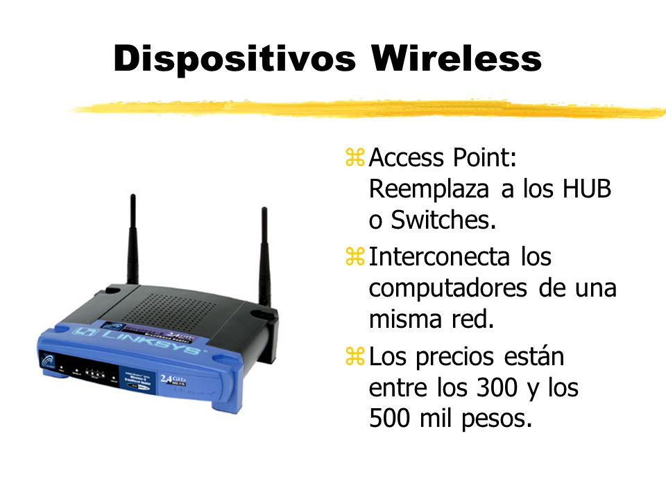 Dispositivos Wireless