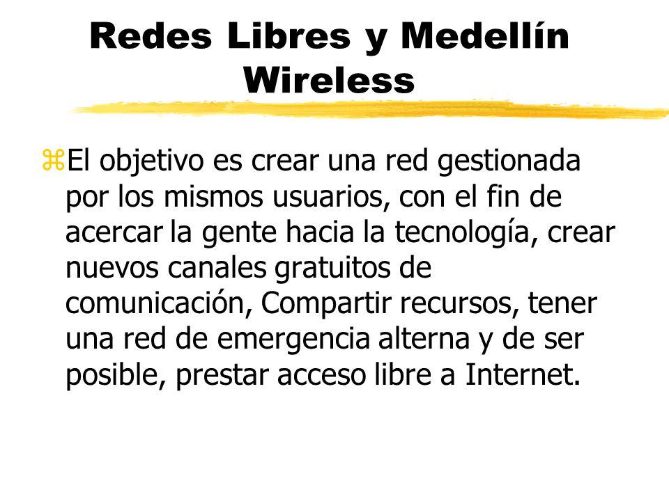 Redes Libres y Medellín Wireless