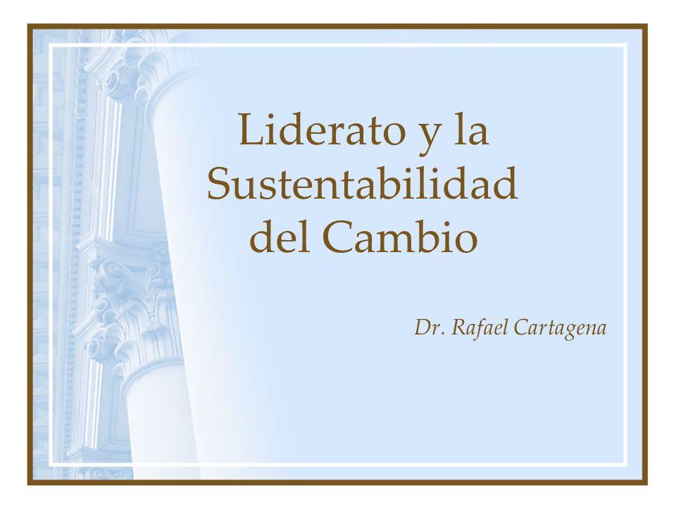 Liderato y la Sustentabilidad del Cambio