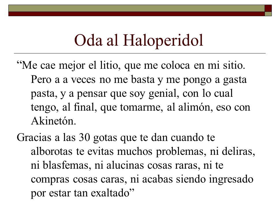 Oda al Haloperidol