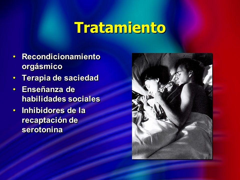 Tratamiento Recondicionamiento orgásmico Terapia de saciedad