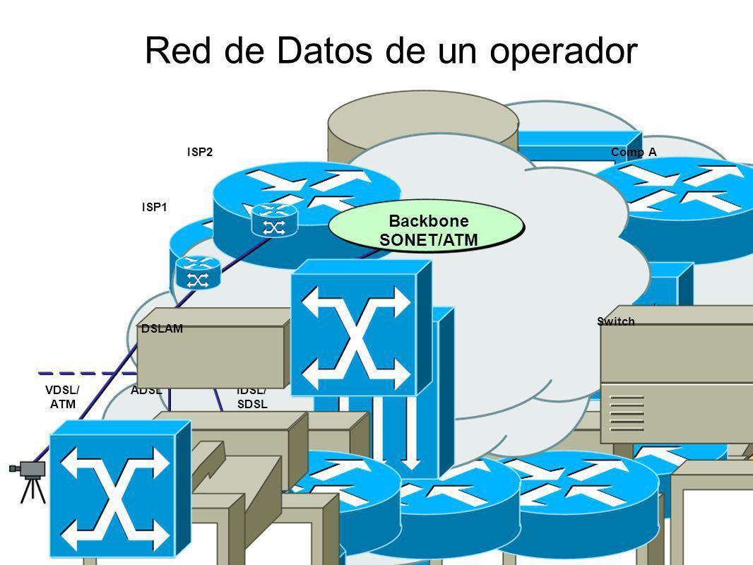Red de Datos de un operador