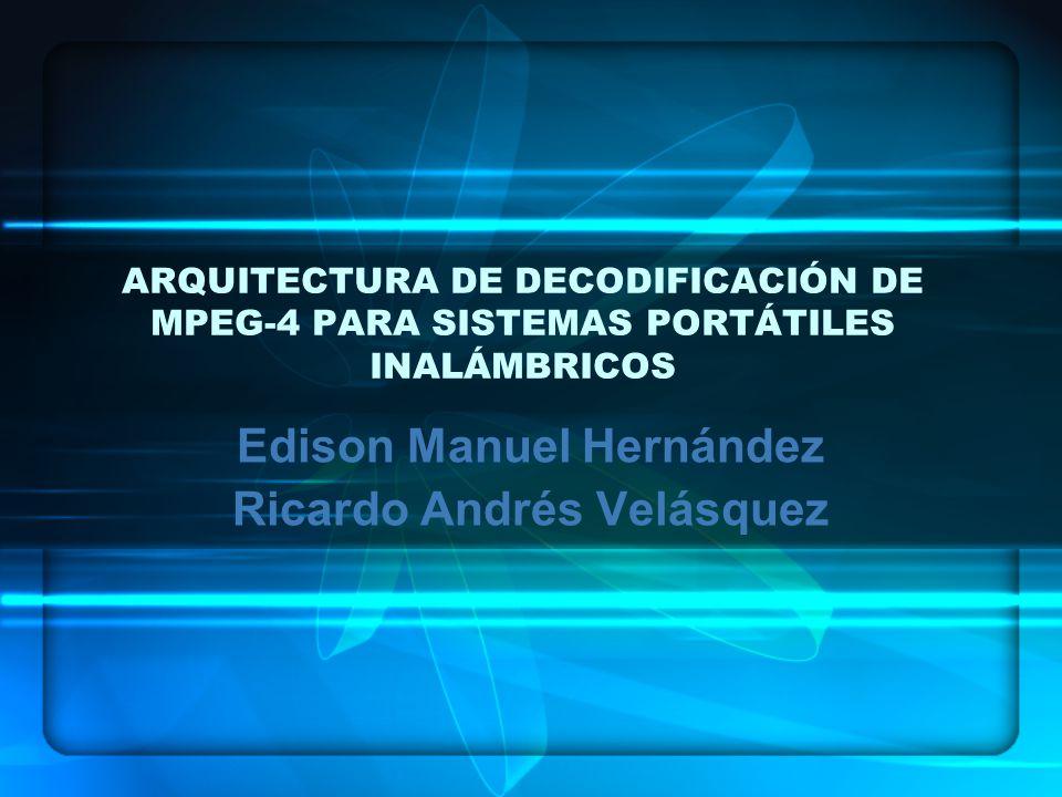 Edison Manuel Hernández Ricardo Andrés Velásquez