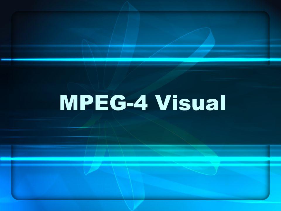 MPEG-4 Visual