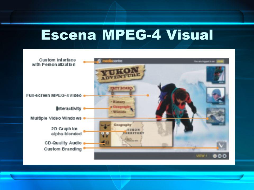 Escena MPEG-4 Visual