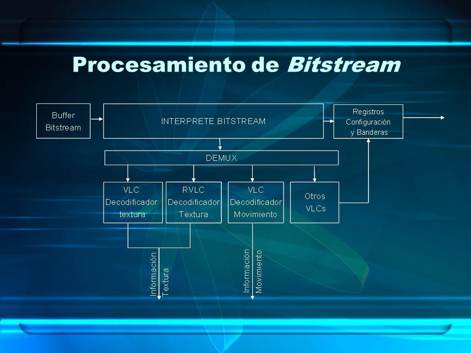 Procesamiento de Bitstream