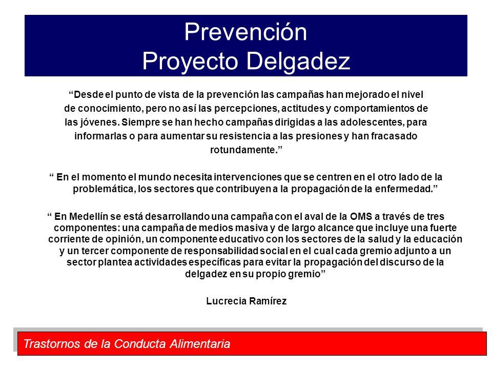 Prevención Proyecto Delgadez