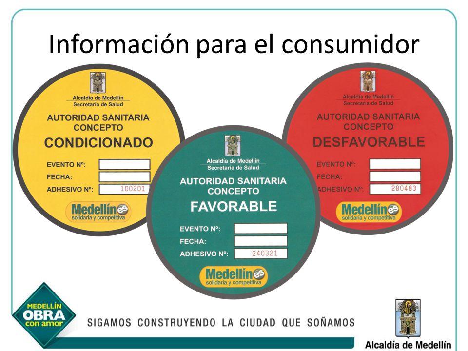Información para el consumidor