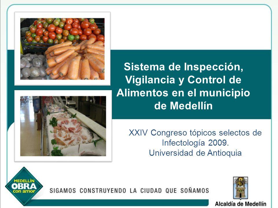 Sistema de Inspección, Vigilancia y Control de Alimentos en el municipio de Medellín