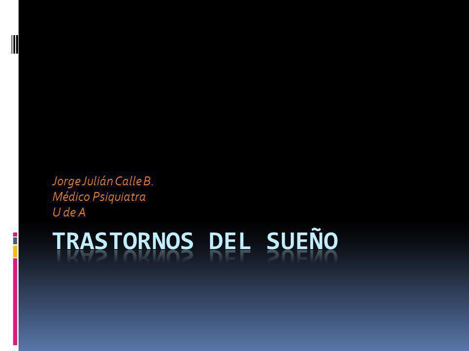 Jorge Julián Calle B. Médico Psiquiatra U de A