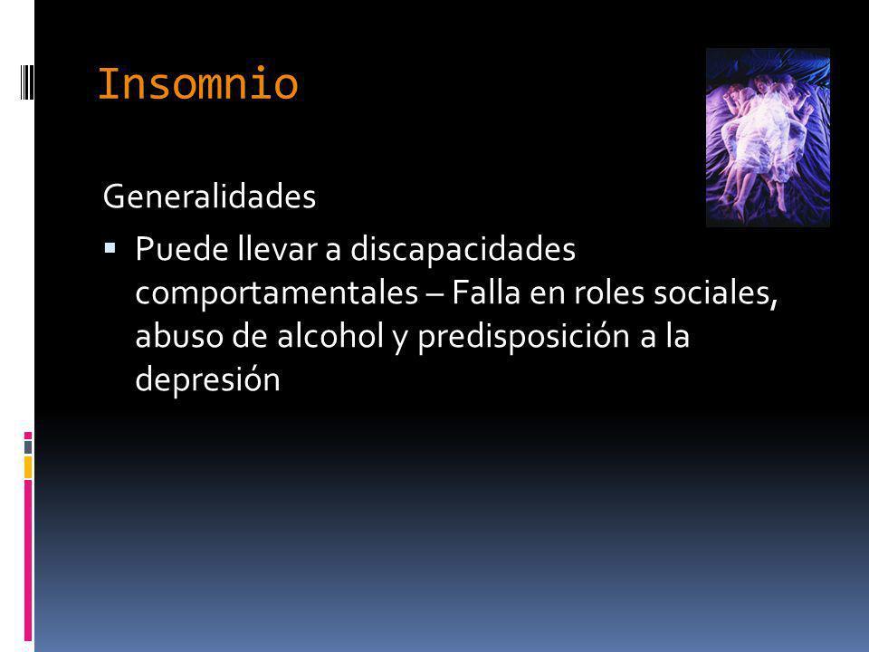 Insomnio Generalidades