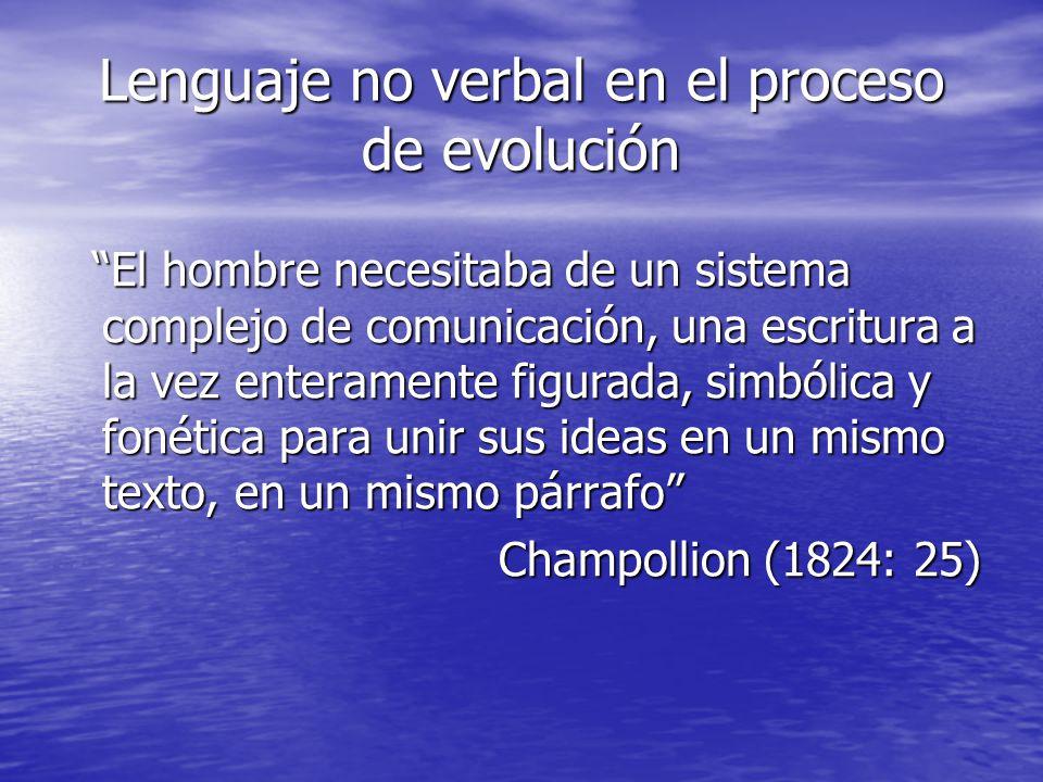 Lenguaje no verbal en el proceso de evolución