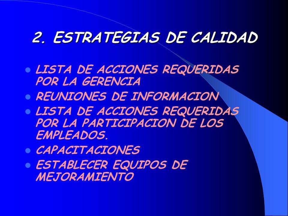 2. ESTRATEGIAS DE CALIDAD