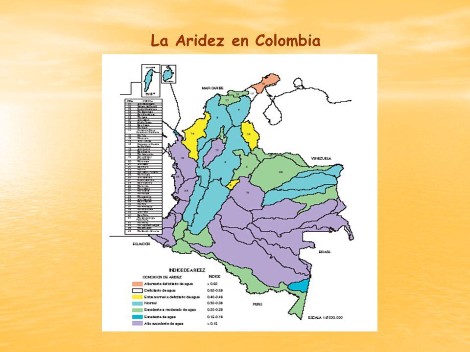 La Aridez en Colombia