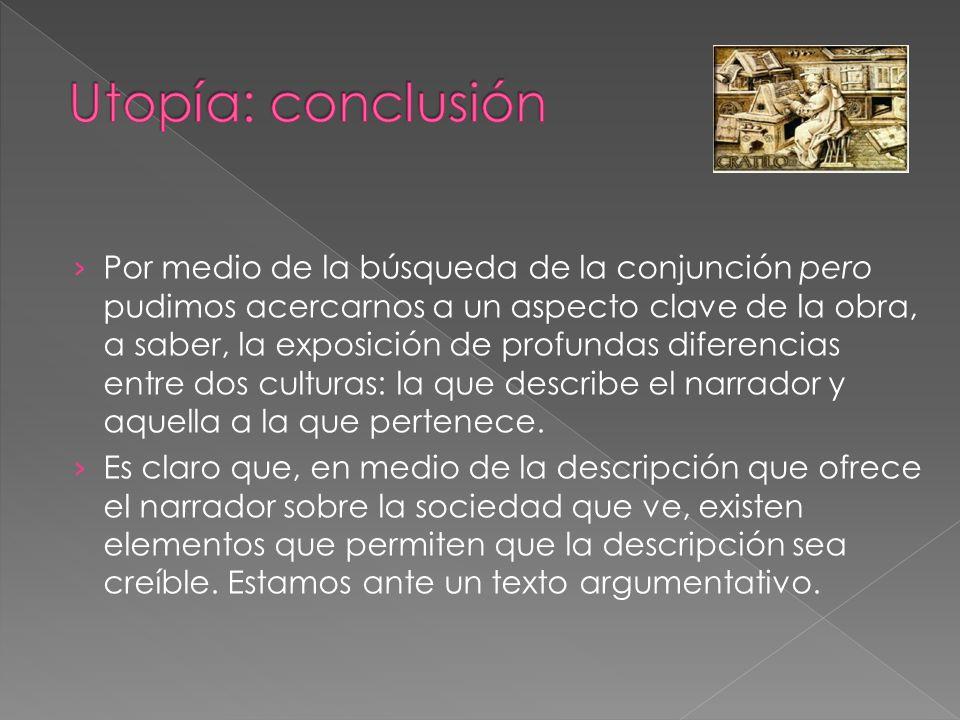 Utopía: conclusión