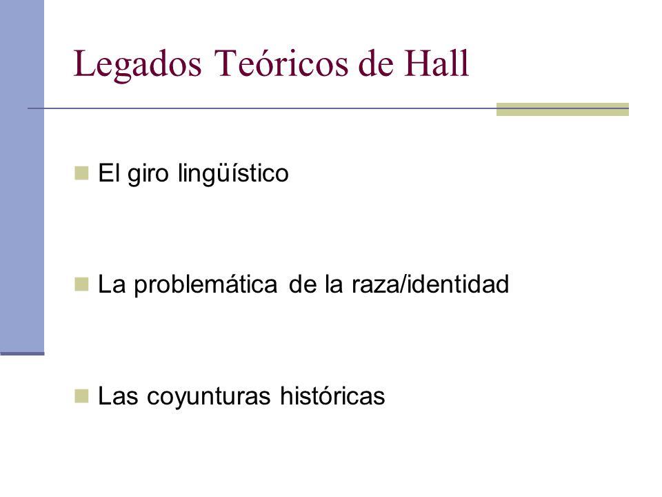 Legados Teóricos de Hall