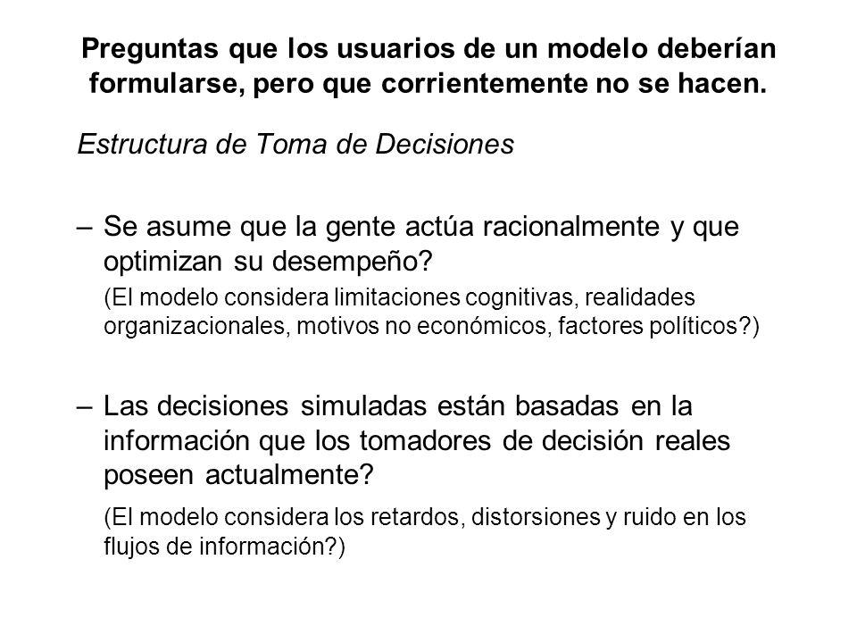Estructura de Toma de Decisiones