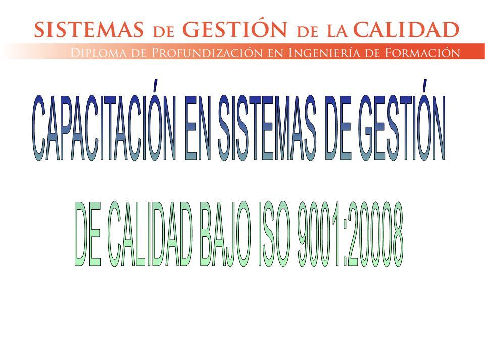 CAPACITACIÓN EN SISTEMAS DE GESTIÓN
