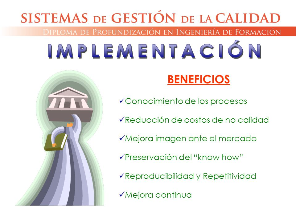 IMPLEMENTACIÓN BENEFICIOS