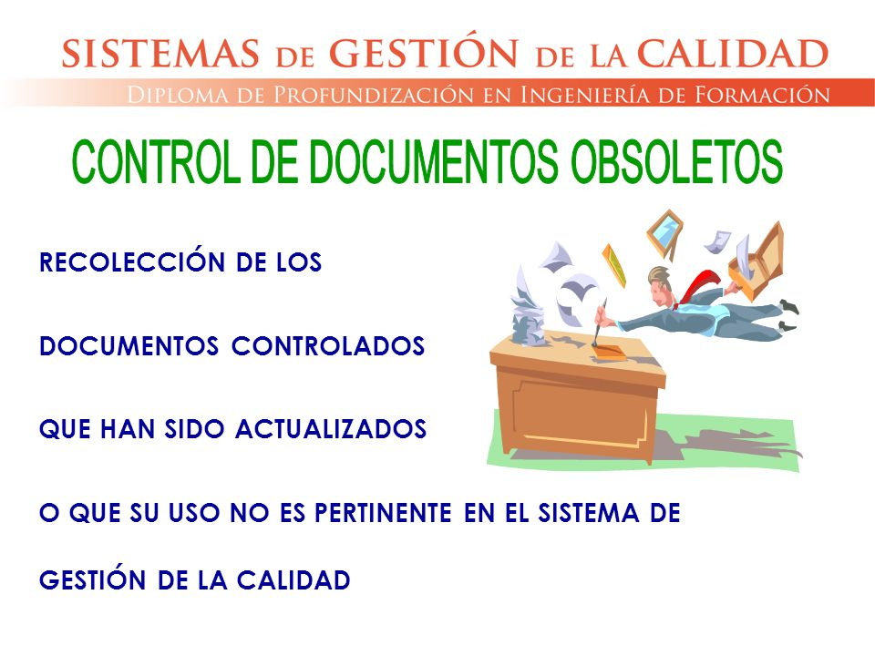 CONTROL DE DOCUMENTOS OBSOLETOS