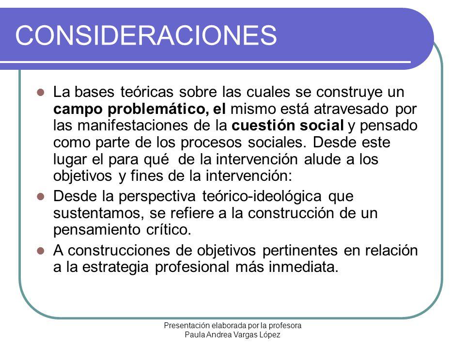 Presentación elaborada por la profesora Paula Andrea Vargas López