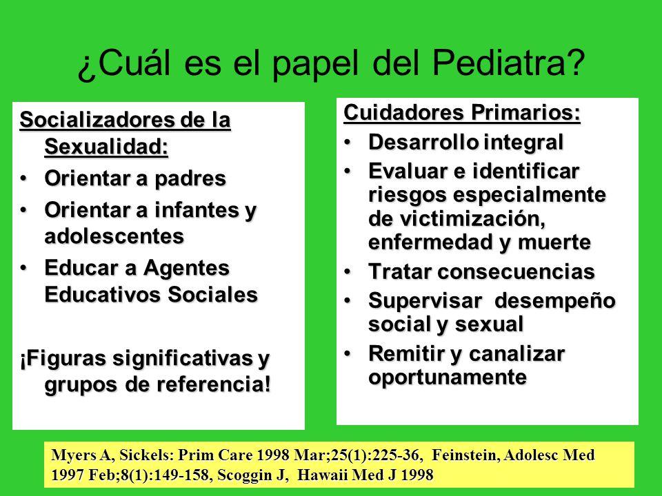 ¿Cuál es el papel del Pediatra