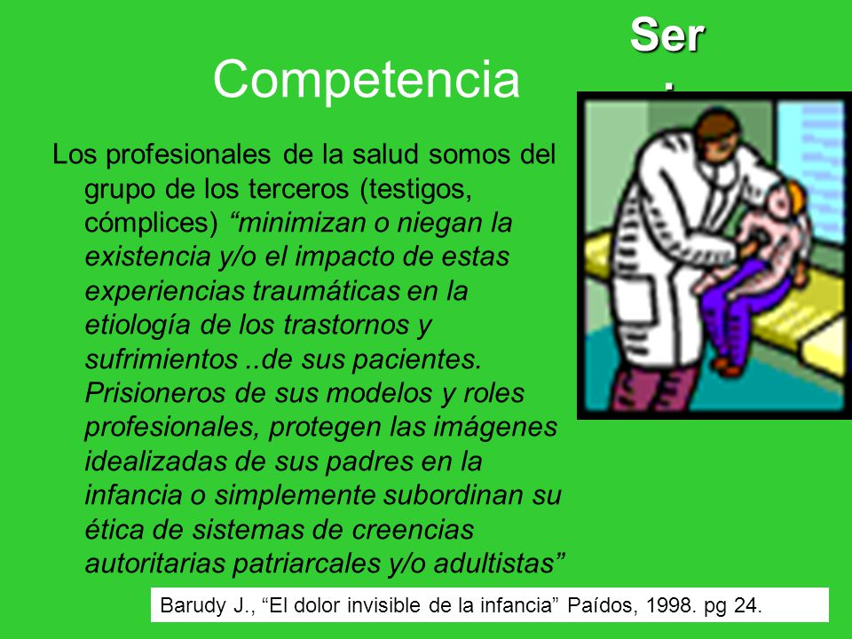 Ser: Competencia.