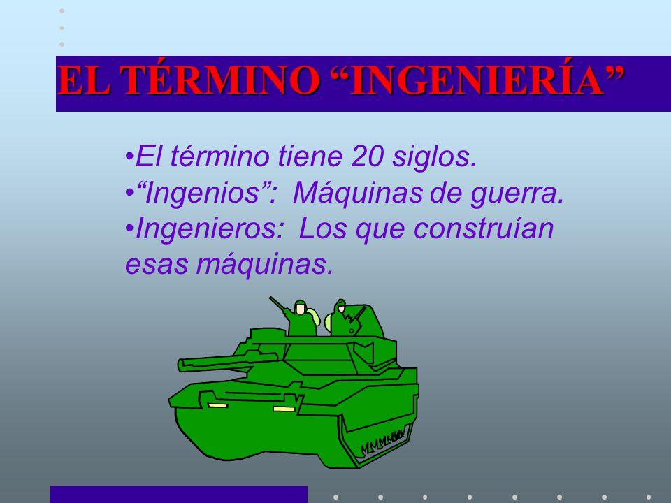 EL TÉRMINO INGENIERÍA