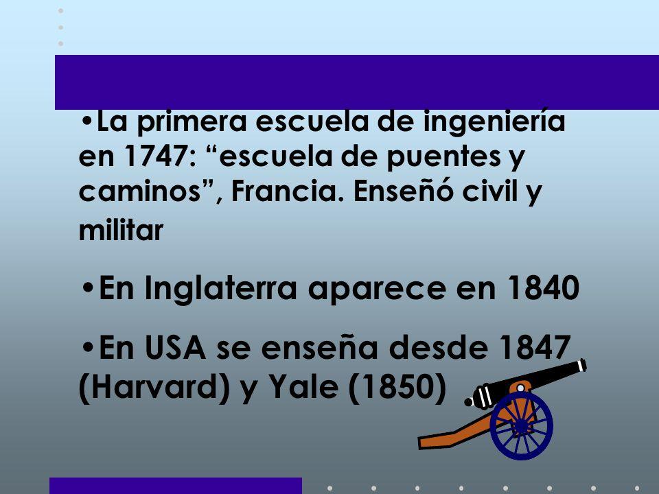 En Inglaterra aparece en 1840