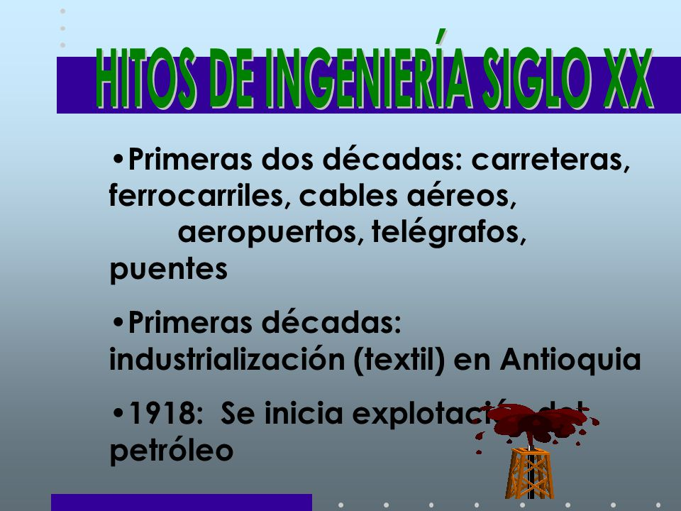 HITOS DE INGENIERÍA SIGLO XX