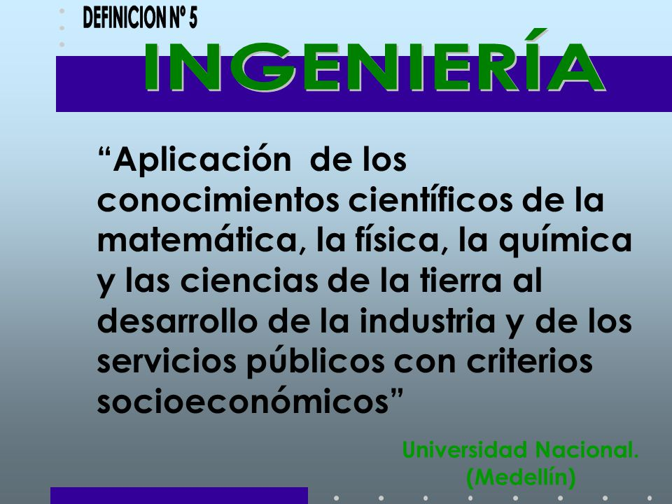 Universidad Nacional. (Medellín)