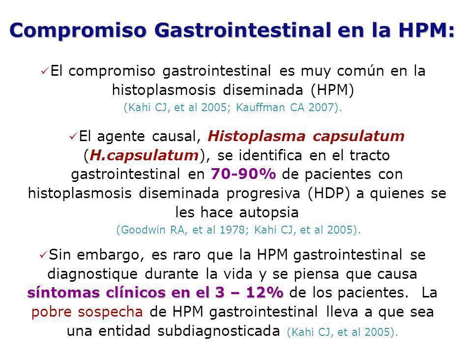 Compromiso Gastrointestinal en la HPM: