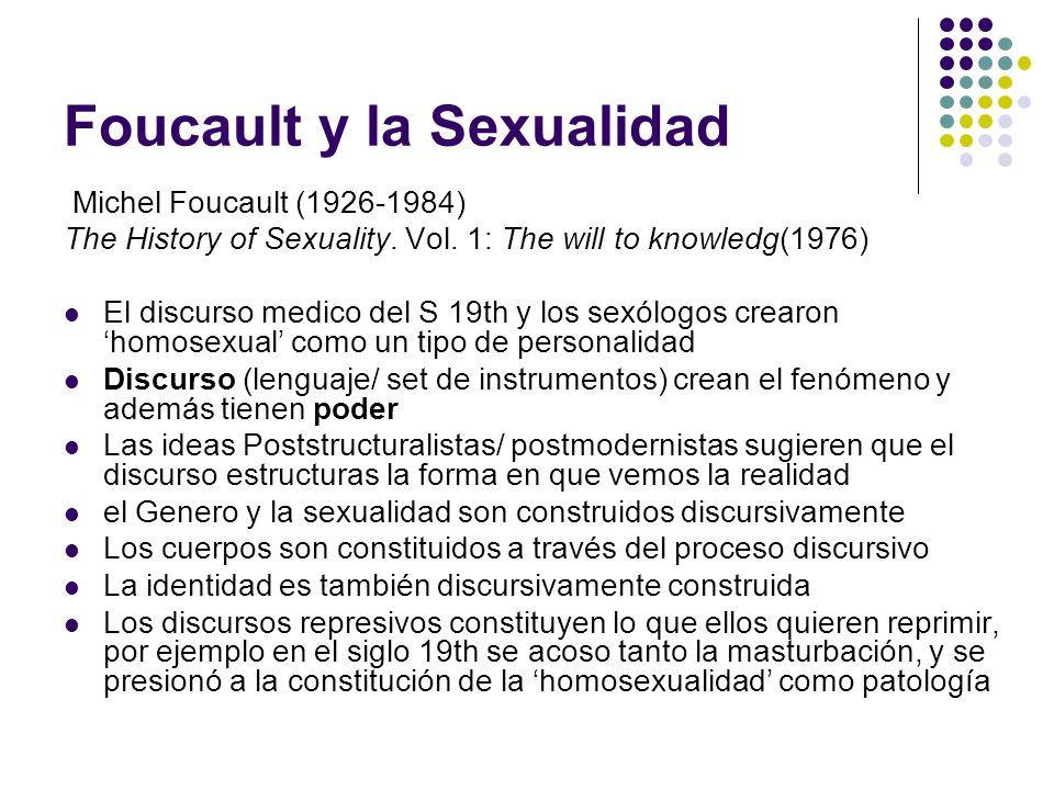 Foucault y la Sexualidad